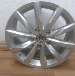 Alloy wheel Volkswagen Touareg Nf R18 (02>) oem 7p6601025ac (small scratches) (cl-3)