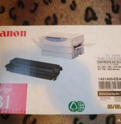 Canon cartridge new