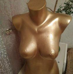 Γυναικείο κορμό Χρυσή