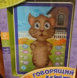 Tablet 3D Talking cat