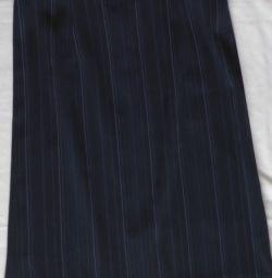 Спідниця синя, р-44 (46)