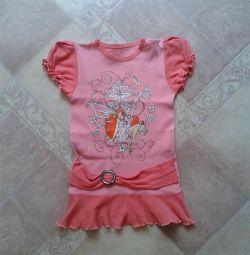 футболка туніка