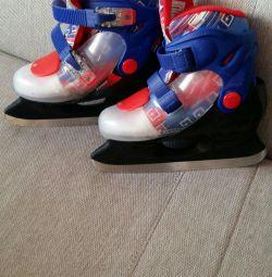 Skates. Size 34-37.