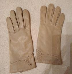 Deri eldivenler yeni