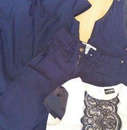 Σχολικά ρούχα 140-146 (μπλε)