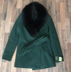 Пальто зимнее новое Россия