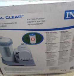 The pump filtering 9462l / h intex 56634