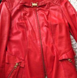 Double-sided leather jacket 42-44
