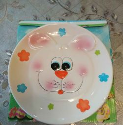 Plate Baby Bunny