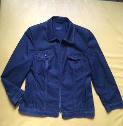 Куртка джинсова приталена