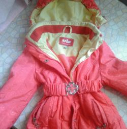 Jacket for a girl 2-3 years spring