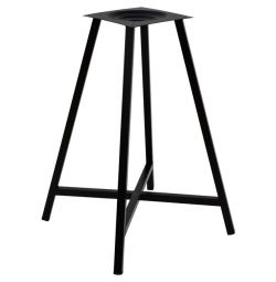 TABLE BASE METAL BLACK TS951