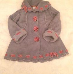 Palton de oaie pentru copii