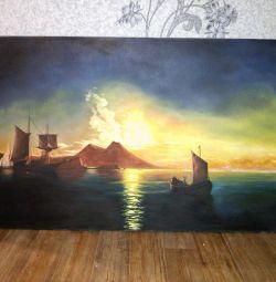 Ζωγραφική, Ηλιοβασίλεμα, (Μεγάλο).