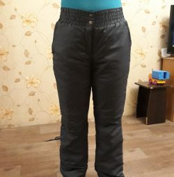 Pantaloni iarna sintepon 46r
