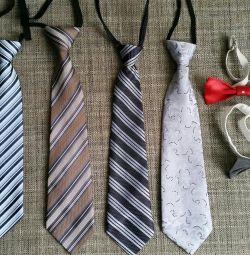 Ties, bow ties, belts.