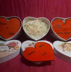 Valentine din lemn