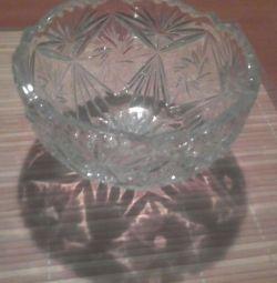 Crystal Salad Bowl