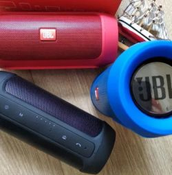 Portable speakers JBL Charge 2+ (color-blue)