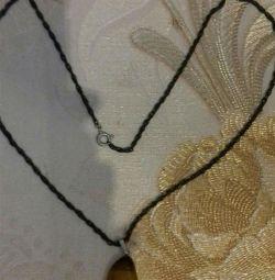 Taş kolye ile Vintage zinciri