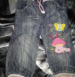 Jeans Capri σε 3-4g.