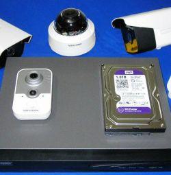 Kits, cameras, recorders, video surveillance