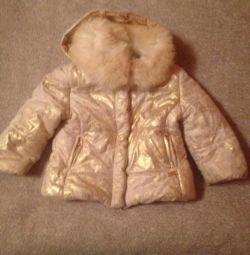 Куртка демисезонная 18 мес. для девочки