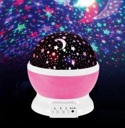 Night Light Proiector cu LED Rotire Star Master Nou