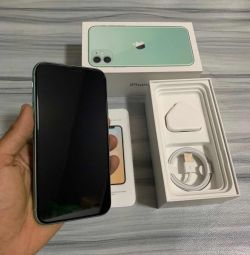 iphone 11 256GB colour green for sale