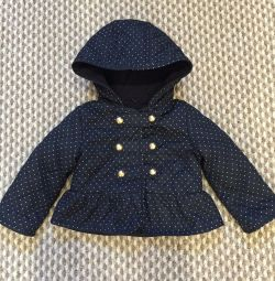 Demi-season jacket for 1-1.5 years