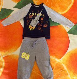 Costum pentru băiat 86-92r