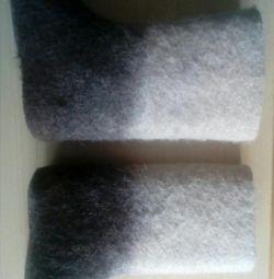 Cizme pentru copii, talpă de 20 cm