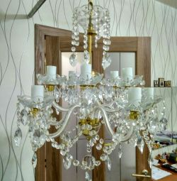 Crystal chandelier 10 horn
