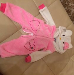 Hello kitty overalls new 6-12 months