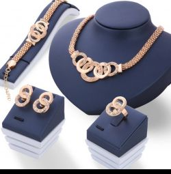 I will sell a new set of jewelry