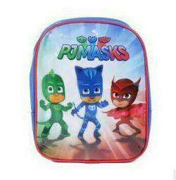 Maskeli sırt çantası kahramanları yeni