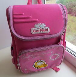 Рюкзак школьный для девочки фирма GarField