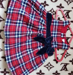Φόρεμα για κορίτσι 1 - 2 μήνες