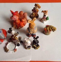Фигурки керамические