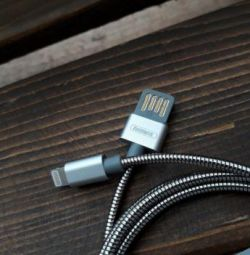 Remax Metall iPhone Charging Cable