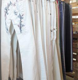 Sale of women's trousers