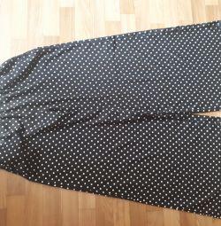Wide trousers Zara