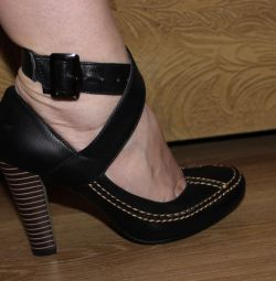 pantofi noi cu curea