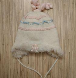 Χειμερινό καπέλο από 9 μήνες έως 1 έτος