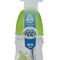 Small bottle of Canpol babies 120 ml. (+3 months)
