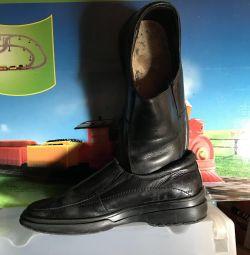 Туфли школьные для мальчика, р.36