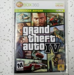 GTA 4 / Grand Theft Auto IV (2008) XBOX360 drive