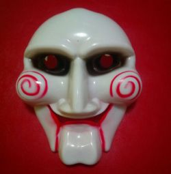 Mask from the movie saw
