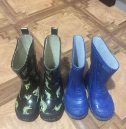 Rubber boots 25 and 27 solutions