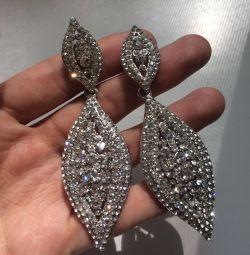 Beautiful earrings for celebration